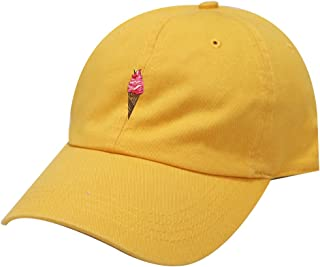 f2a3950b753 City Hunter C104 Summer Ice Cream Cotton Baseball Cap 11 Colors