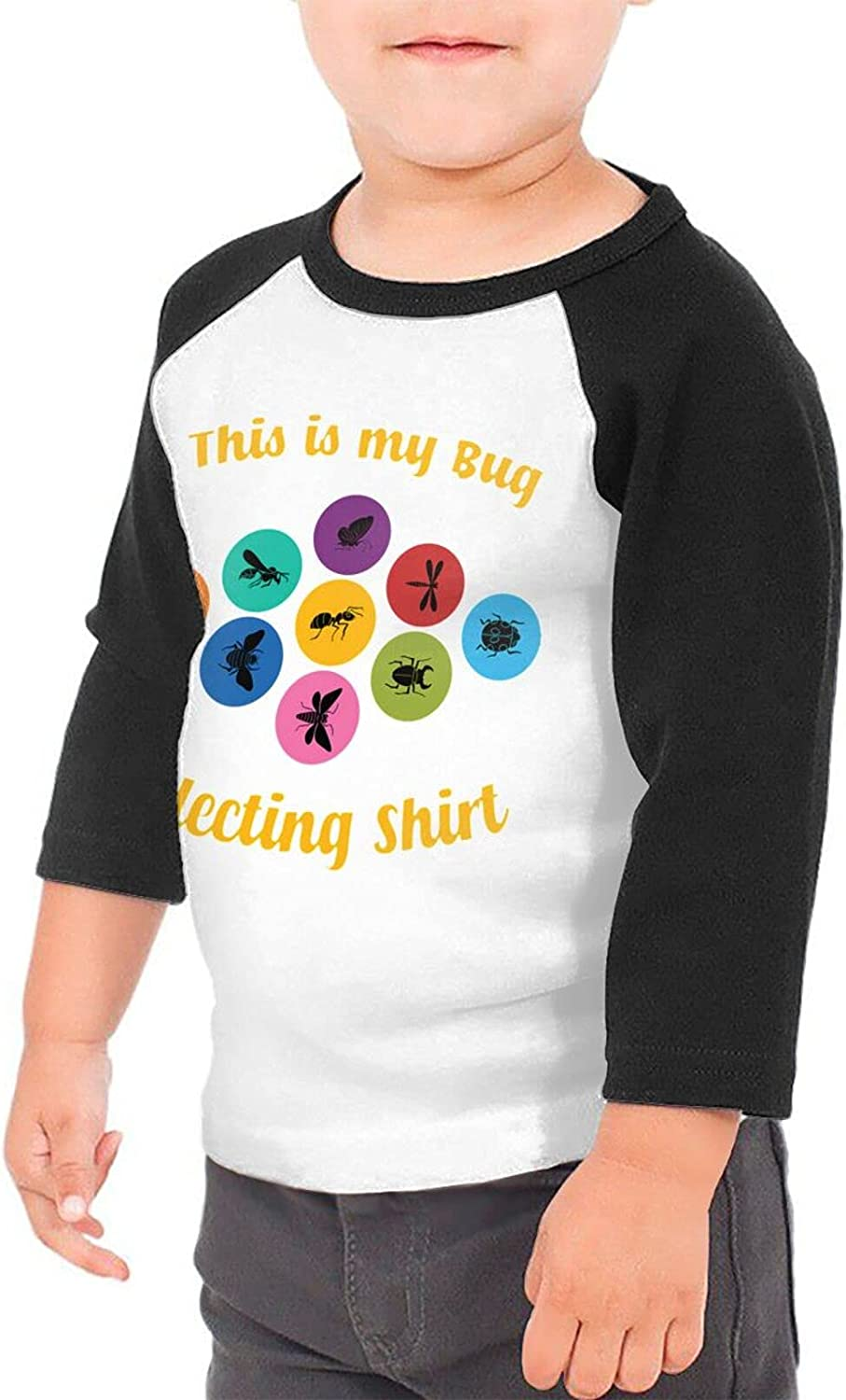 This is My Bug Collecting T-Shirts Novelty for Youth Tees with Cool Designs