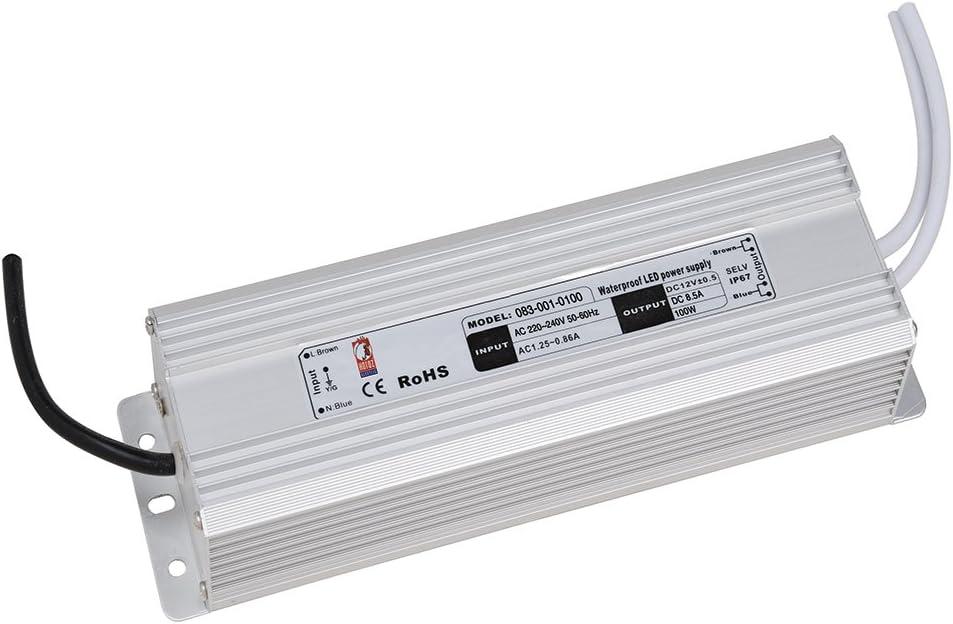 Led Trafo Netzteil Netzadapter Driver Transformator 12 Volt Wasserdicht Ip67 12v 5a 60w Fur Innen Und Aussenbereich Amazon De Beleuchtung