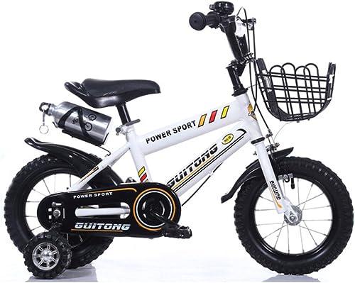 barato y de alta calidad Fenfen Fenfen Fenfen Bicicleta para Niños 16 pulgadas Cochecito de bebé Bicicleta para bebés 4-7 años Bicicleta de Montaña de acero con alto contenido de carbono, blanco  Entrega gratuita y rápida disponible.