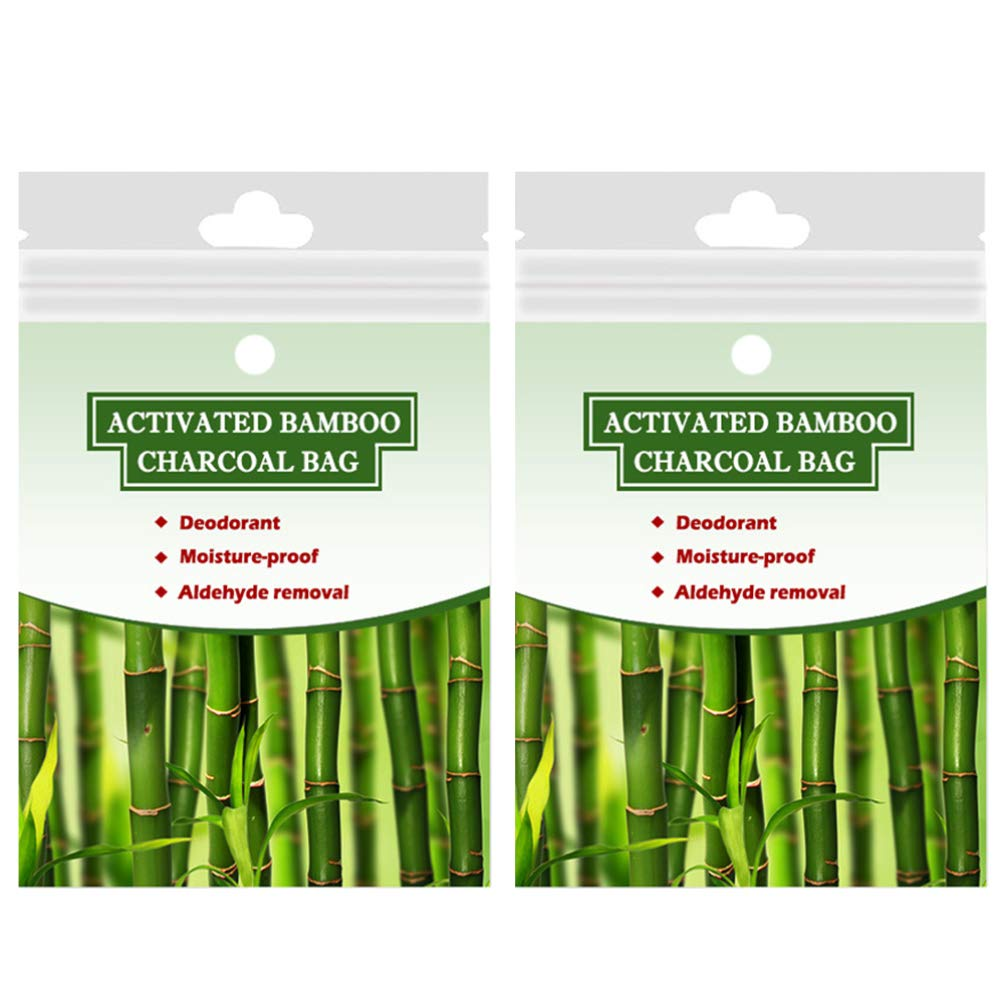 Exceart price Brand Cheap Sale Venue 2pcs Activated Bamboo Charcoal Bags Odor