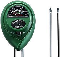 RUIZHI Soil Ph Meter for Soil Test Kit with pH Moisture Meter PrecisionTest Soil Ph Plant for Garden Indoor & Outdoor, No ...
