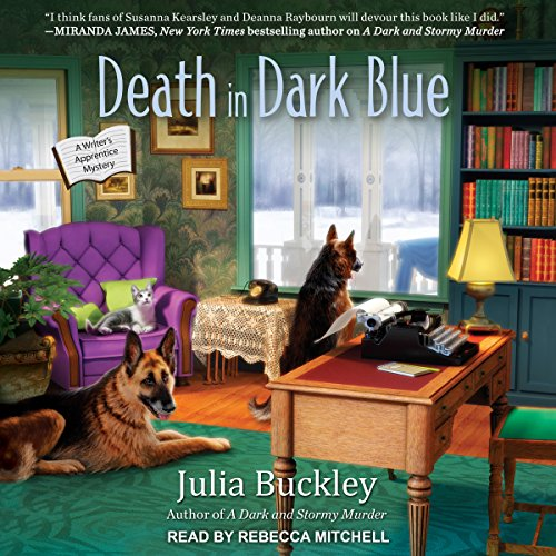 Death in Dark Blue audiobook cover art
