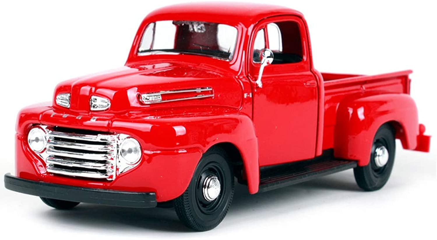 ZHPBHD Car Model Car 1 25 Ford F1 Pickup Simulation Alloy Diecasting Toy Jewelry Sports Car Collection Jewelry 19.2x7.3x7.4CM model (color   Red)