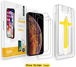 ZIFRIEND Screen Protector for iPhone Xs Max(3 Pack 6.5