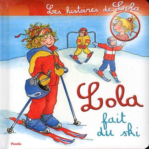 Lola fait du ski