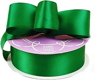 Emerald Green Double Face Satin Ribbon, 1-1/2