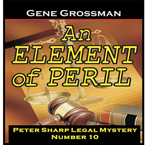 An Element of Peril audiobook cover art