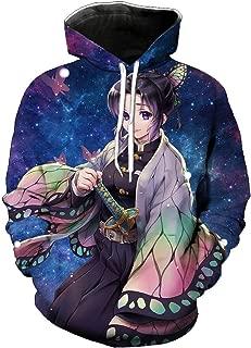 Unisex Demon Slayer Kimetsu No Yaiba Hoodie Outwear Jacket