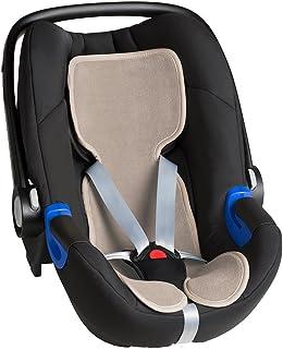 Air Cuddle Cool Seat - Funda para capazo de coche, 0 g, transpirable, color beige