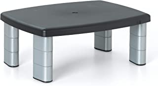 "3M Adjustable Monitor Stand, Three Leg Segments Simply Adjust Height From 1"" to 5.."
