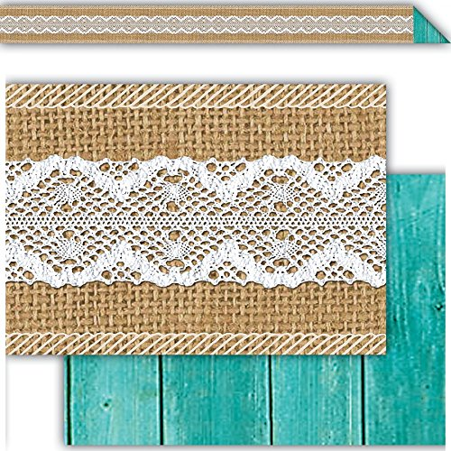 Teacher Created Resources Shabby Chic Double-Sided Border (77169) Photo #2