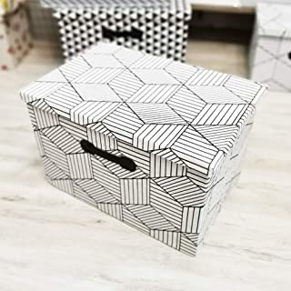 JKGHK Bacs à Panier Pliables avec couvercles, boîtes à Cubes de Rangement en Tissu, oraganizer de Placard pour la Maison e...
