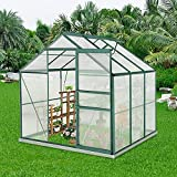 Best Greenhouse Kits - Outdoor Greenhouse, 6' x 6' x7' Garden Greenhouse Review