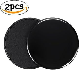 Gliding Discs Core Sliders,Dual Sided Use on Carpet Or Hardwood Floors, Abdominal Exercise Equipment (2pcs)