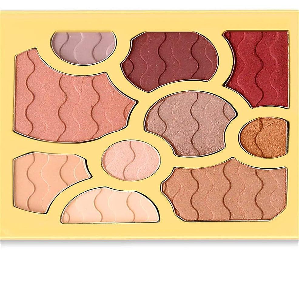 混乱型素敵な10色アイシャドウワインレッドプレートアイシャドウパウダーマット化粧品メイク