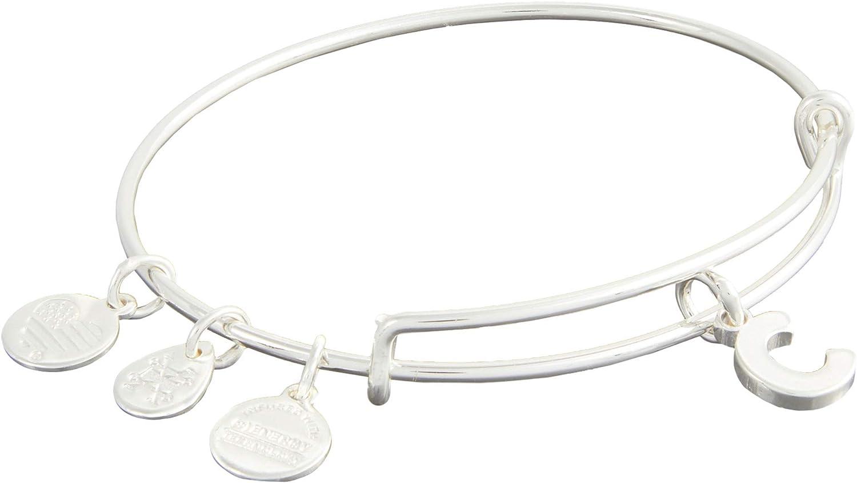 Alex and Ani Initial C III Bangle Bracelet