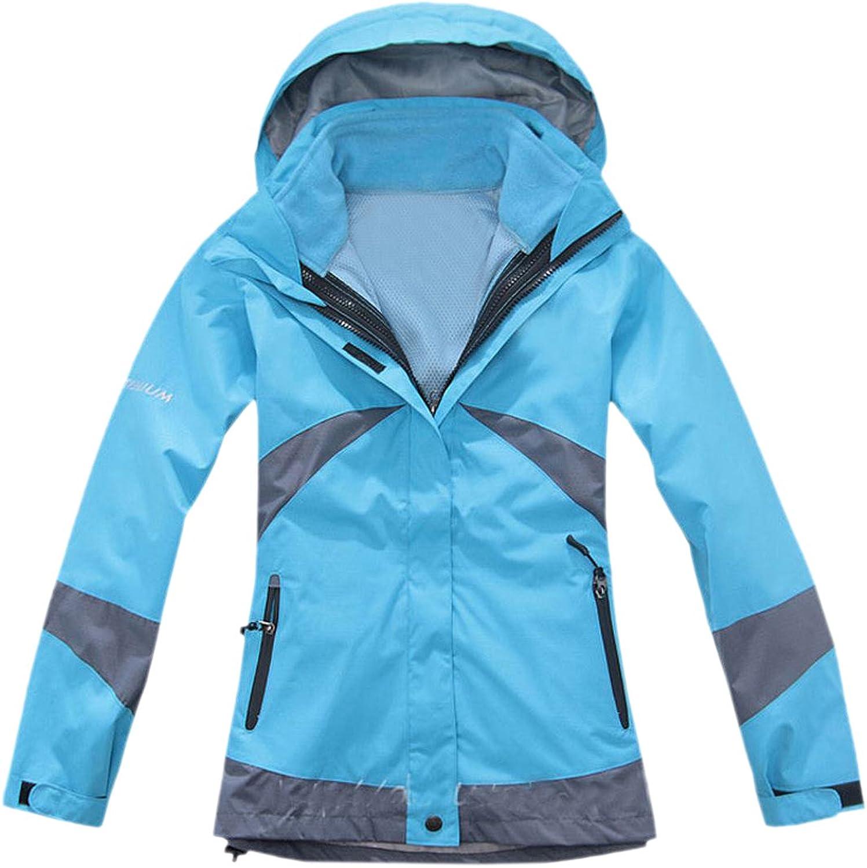 Honey GD Women's FullZip Fashion Waterproof Jacket Mountain Jacket