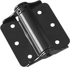 National Hardware N114-975 125 Adjustable Spring Hinges in Black, 3