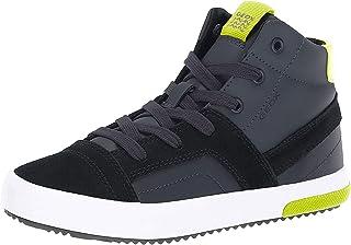 Geox Kids' Alonisso Boy 24 High Top Sneaker