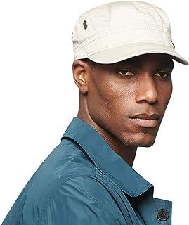 CACUSS 100% Cotton Classic Military Hats Men Women Adjustable Army Cap Comfy Cadet Hat Vintage Flat Top Cap Baseball Cap