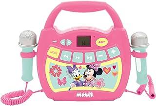 LEXIBOOK Disney Minnie Mouse, Mi Primer Reproductor Digital