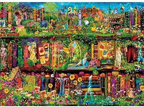 Tangram - Puzzle de madera de 1000 piezas para adultos, rompecabezas grande...