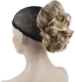 Aimole Lady Short Curly Claw Clip-on Hair Ponytail Hairpiece Synthetic Extensions Wig(H16-613)