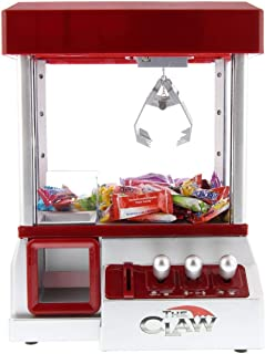 DynaKitchen Electronic Claw Machine Mini Arcade Game Mini Candy Dispenser Prize with Sounds