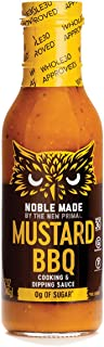 Noble Made by The New Primal Mustard BBQ Cooking & Dipping Sauce, Carolina Gold, Whole30 Approved, Paleo, Certified Gluten...
