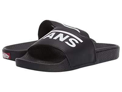 Vans Kids Slide-On (Little Kid/Big Kid) ((Vans) Black) Kids Shoes