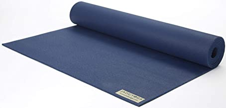 Jade Yoga - Fusion Yoga Mat - Extra Thick for Extra Comfort (68-inch, Midnight Blue)