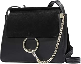 Women Genuine Leather Crossbody Shoulder Purse Chain Messenger Bag for Girls Split Fashion Clutch