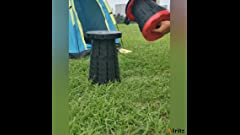 Amazon Com Stansport Folding Camp Stool Black 16 X 14