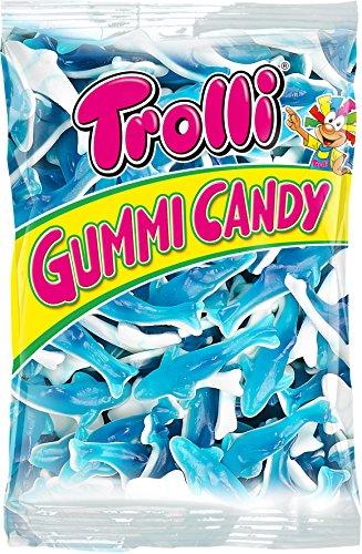 Trolli sharks gummi candy (1000g) Bag