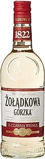 6 Flaschen Zoladkowa Black Cherry Kirsch Wodka 30% Vol. 6 x 0,5L