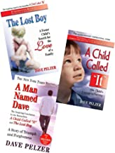 Dave Pelzer 3 Book Set~A Child Called It/The Lost Boy/A Man Named Dave