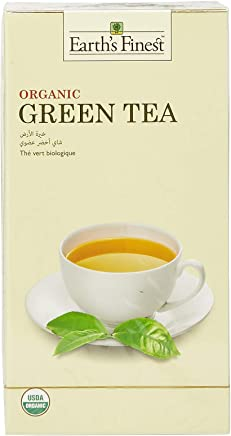 Earth's Finest Organic Green Tea - 25 Tea Bags