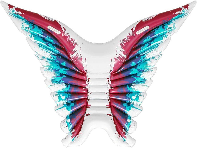 QHWJ Wasser aufblasbare schwimmende Reihe, aufblasbare Flügel schwimmende Reihe schwimmende Bett Wasser liefert aufblasbare Flügel liegend Wasser Spiele im Freien