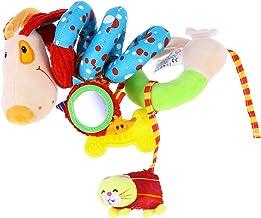 Yeahibaby Puppy Dog Bebé Cuna Bebé Toy Envolver alrededor Crib Rail Toy Cochecito Juguete Cute Bebé Educativo Juguetes De Plush