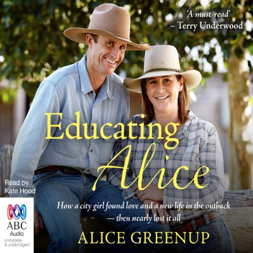 Educating Alice audiobook cover art
