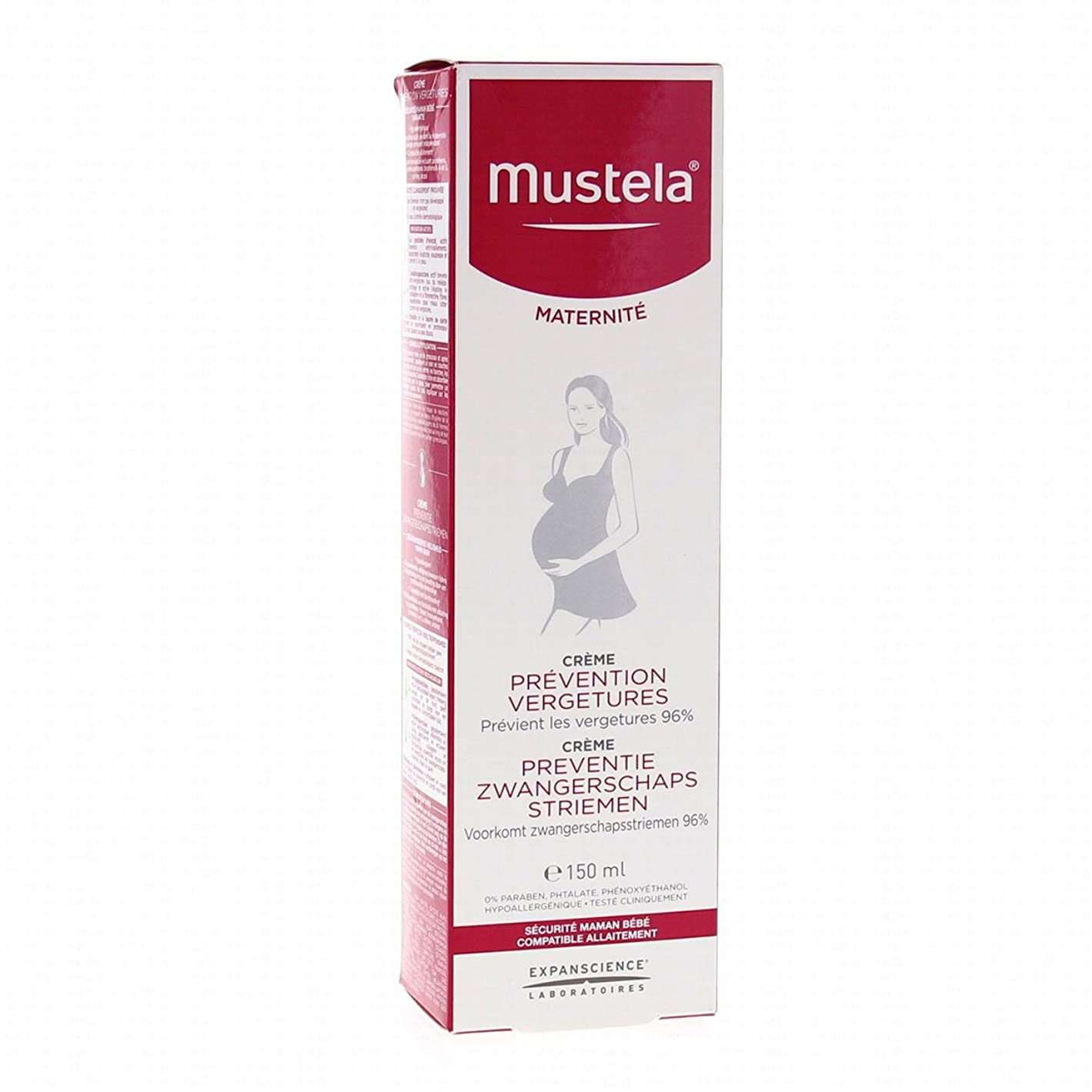 出演者方法スタウトMustela Maternity Stretch Marks Prevention Cream Fragrance Free 150ml [並行輸入品]