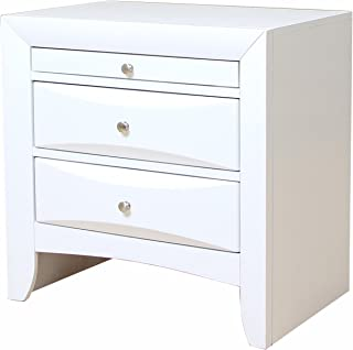 ACME Ireland White Nightstand