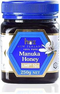 マヌカハニー UMF10+ 250g 蜂蜜 マヌカ 100% hnz正規品 ハニーニュージーランド社(hnz社) 無農薬 無添加 64400001 00