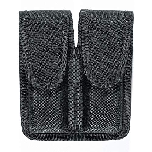 Bianchi Model 8002 Double Magazine Pouch - Size 2, Black (1160760)