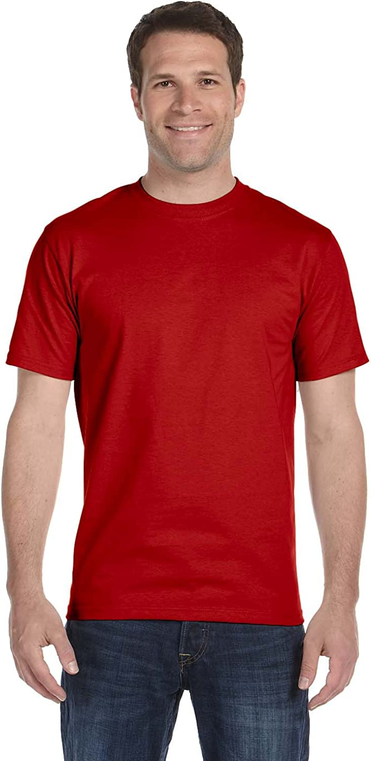 By Hanes Tall 61 Oz BEEFY-T - Deep Red - Lt - (Style # 518T - Original Label)