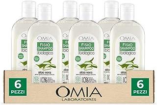 Omia, Fisio Shampoo Idratante e Equilibrante per Capelli Secchi e Cuoio Capelluto Delicato, Ecobio Aloe Vera - Dermatologi...
