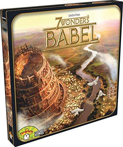 Asmodee- 7 Wonders Babel espansione Gioco da Tavolo, Colore, 8034