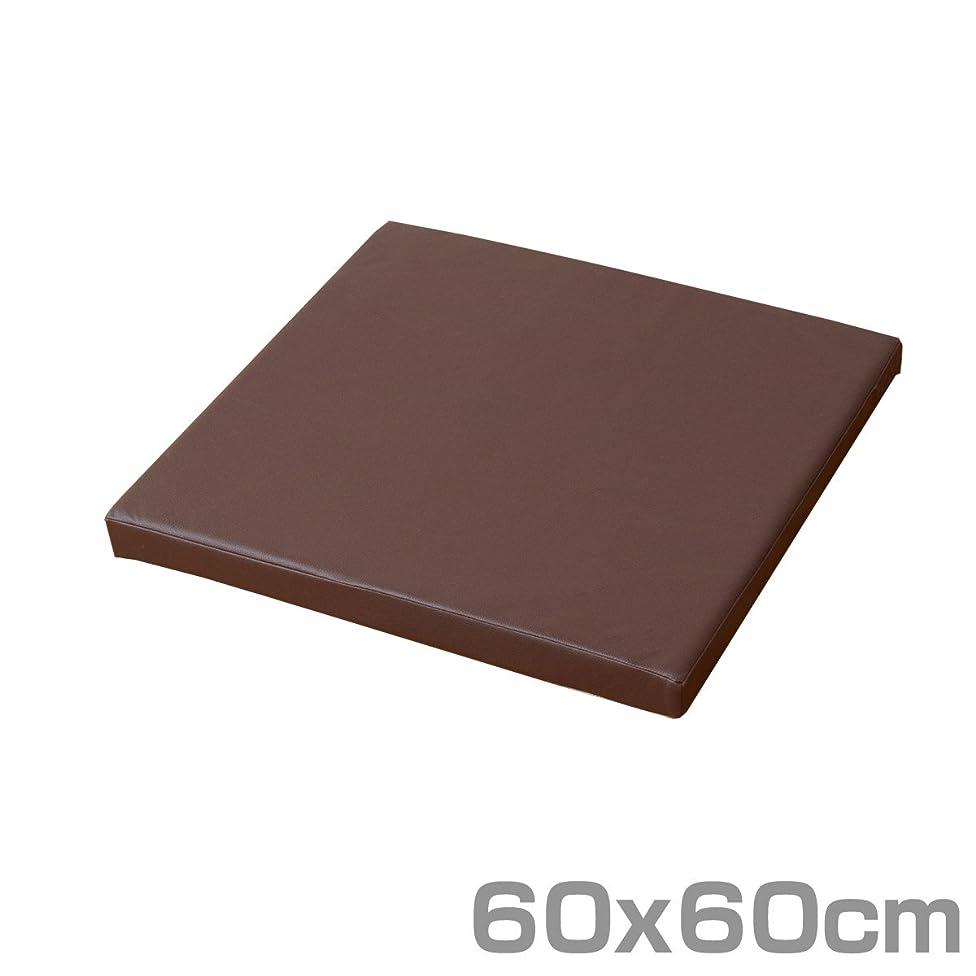 とにかく忌避剤溶ける山善(YAMAZEN) プレイマット 60×60cm 正方形 ダークブラウン IRM-6060B(DBR)