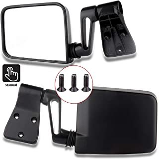 LUJUNTEC Right Side View Mirror Fits for 1995 Jeep...
